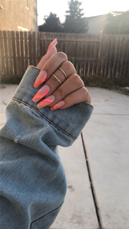 30 Awesome Coffin Nail Designs
